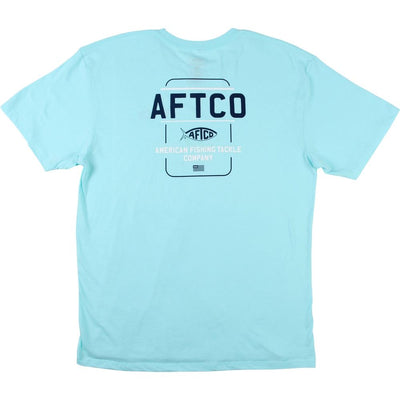 Aftco - Release Short Sleeve Tee - Bahama Heather