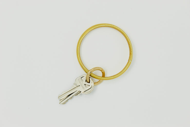 Key Ring Bracelet Gold