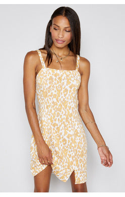 Meet You Here Tank Cheetah Dress