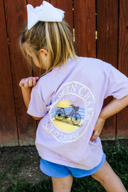 Southern Charm - Beach Cruise SS Youth Tee - Orchid