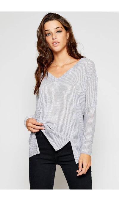 Sadie & Sage V-Neck Top