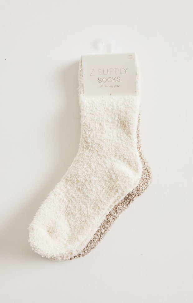 Z Supply Plush Socks 2 Pack -