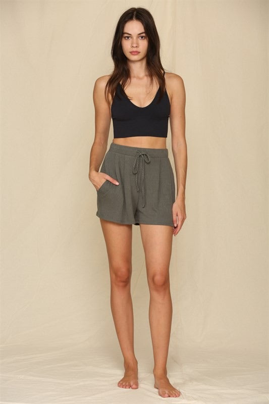 Loving Good Knit Ribbed Shorts