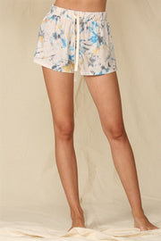 Sunset Dancing Tie Dye Drawstring Shorts