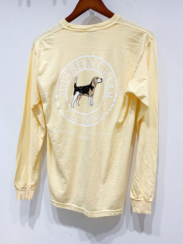 Southern Charm - Youth Beagle SS Tee - Butter