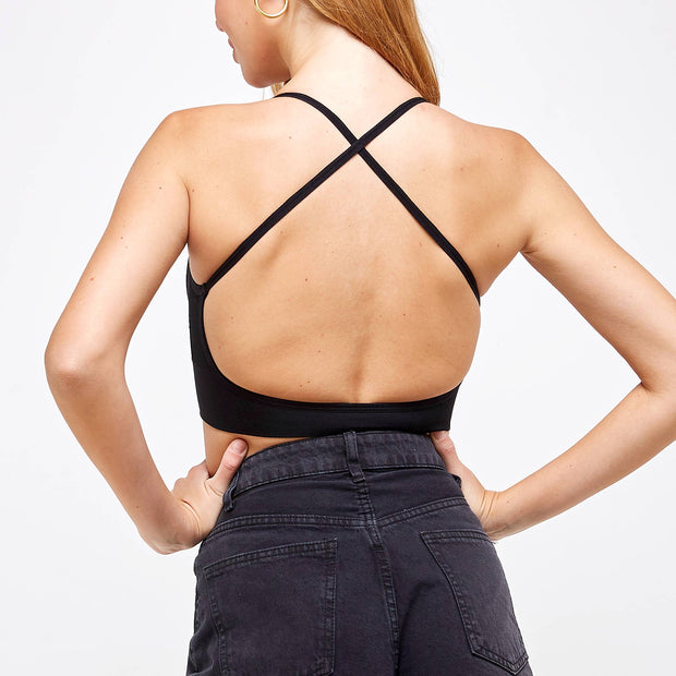 Camille Low Back Bralette