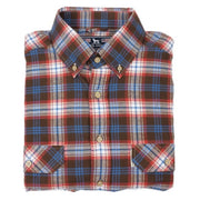 Over Under- The Crosscut Flannel Shirt- Sawtooth
