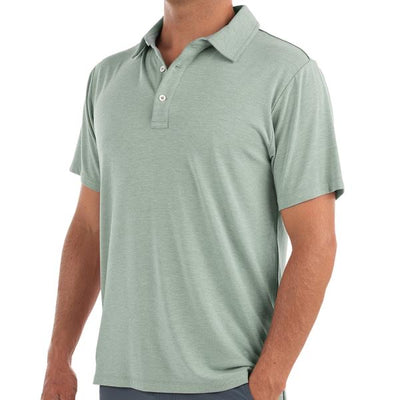 Free Fly - Bamboo Flex Polo - Heather Marsh