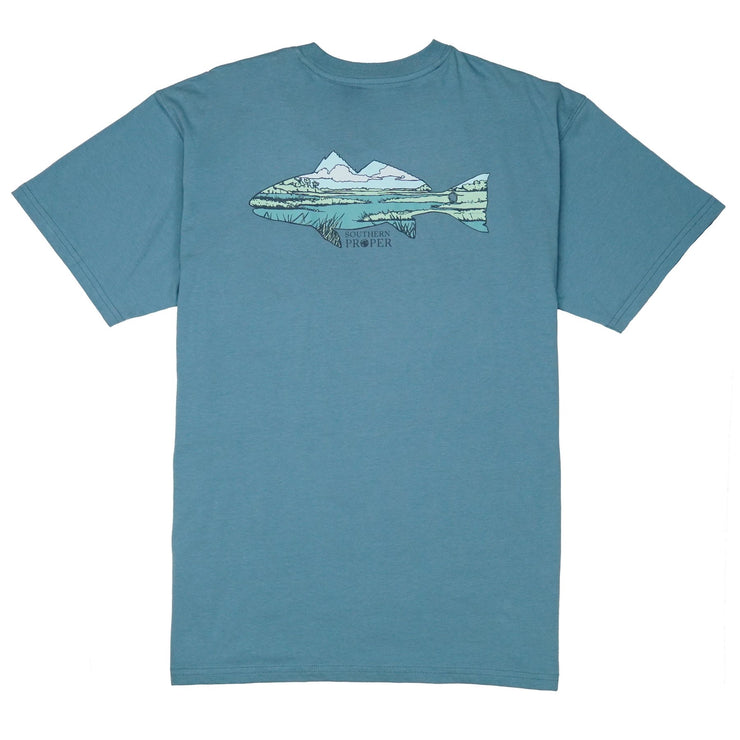 Southern Proper - Marsh Fish - Blue Shadow