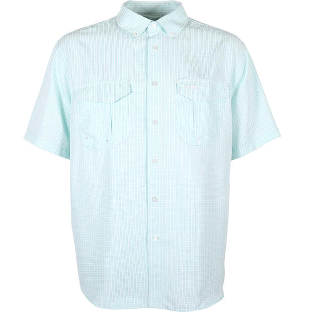 Aftco - Sirius Short Sleeve Button Down - Bahama