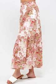 Pretty in Paisley Tiered Skirt