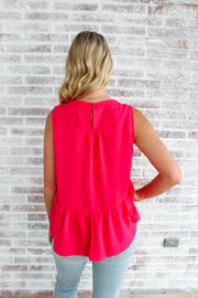 My Go To Peplum Tank