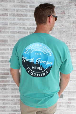 Southern Tide - Embroidered Pocket Tee - Classic White