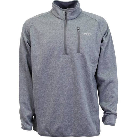 Aftco Vista 1/4 Zip - Gray Heather