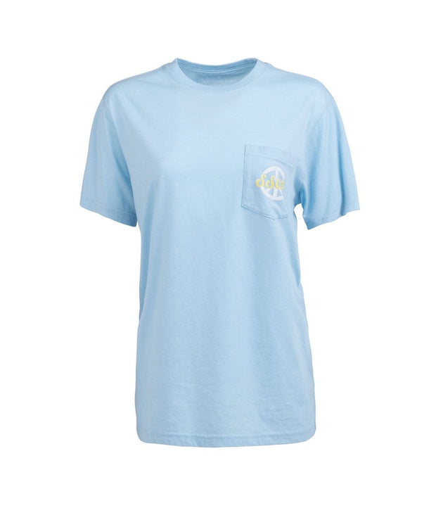 Southern Shirt - Flower Child SS Tee - Dream Blue