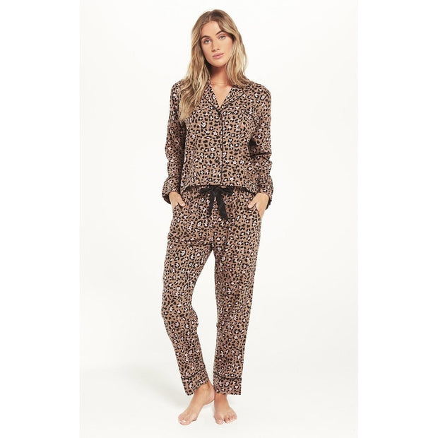 Z Supply - Dream State Leo PJ Set - Toast