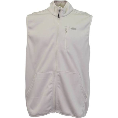 Aftco Vista Vest - Oatmeal Heather