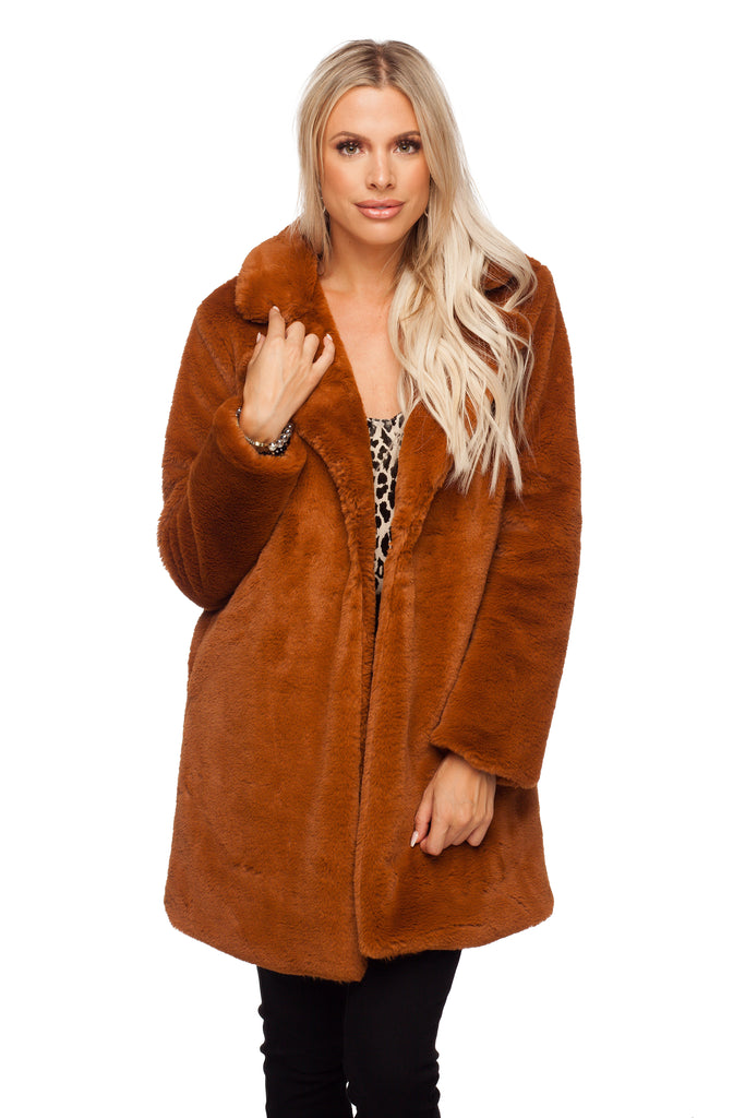 Buddy Love Diana Bear Fur Coat