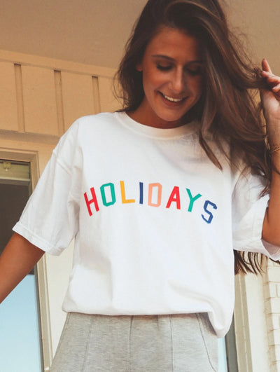 Charlie Southern - Multicolor Holiday Tee