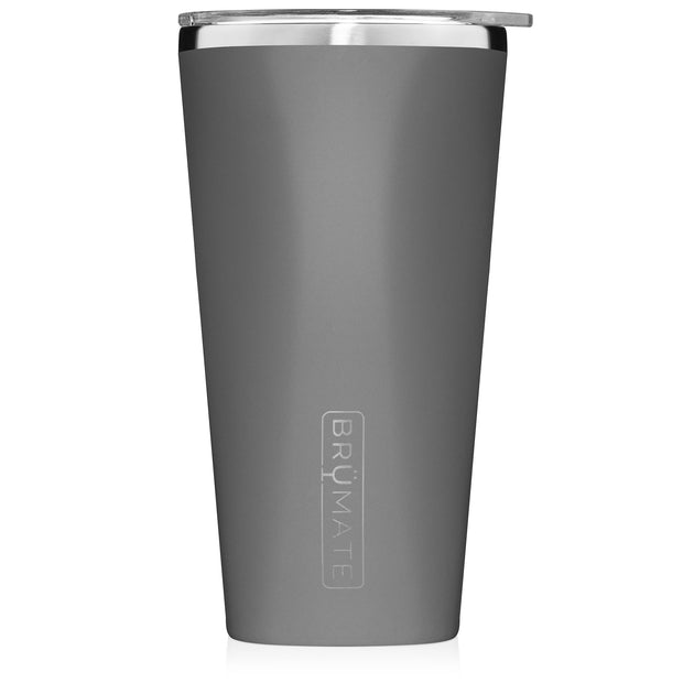 BruMate - Imperial Pint | Matte Gray (20OZ)