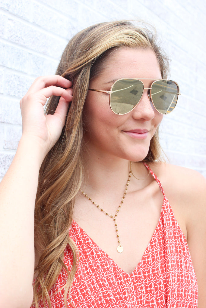 American Bonfire Co Gold Rush Sunglasses