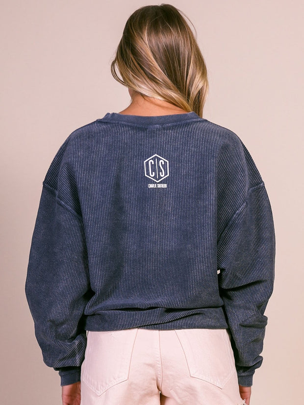 Charlie Southern Corded Sweatshirt - Lake Weekend