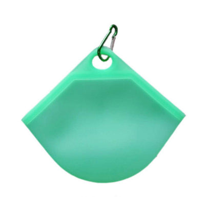 Silicone Mask Pouch - Green