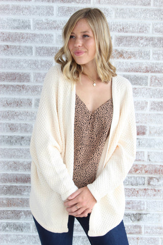 Nothing But Chic Dolman Cardigan