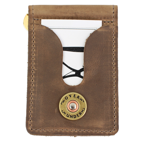 Over Under - Horween Front Pocket Wallet