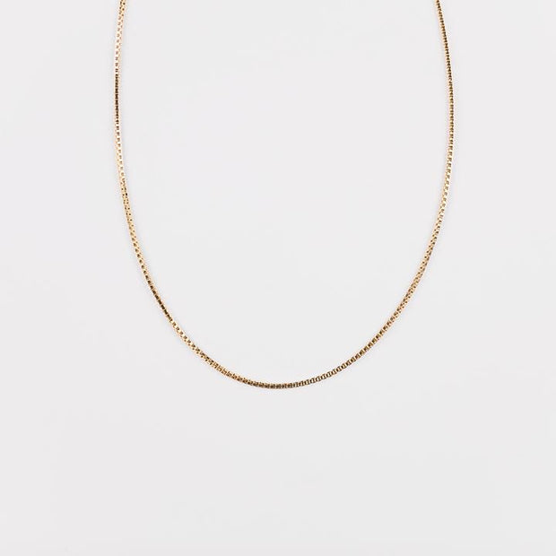 Viry Chain Necklace - Short Gold