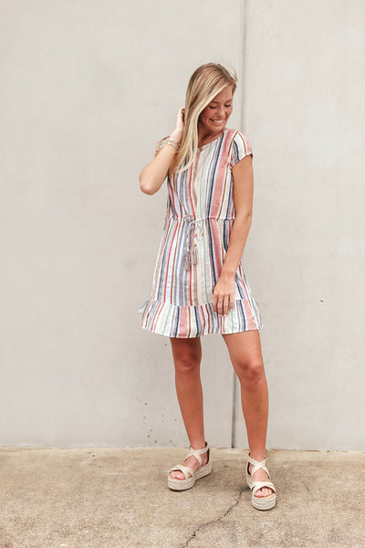 Kashmir Striped Dress