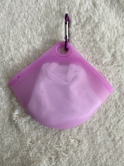 Silicone Mask Pouch - Purple