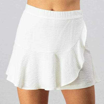 The Other Side Wrap Skort