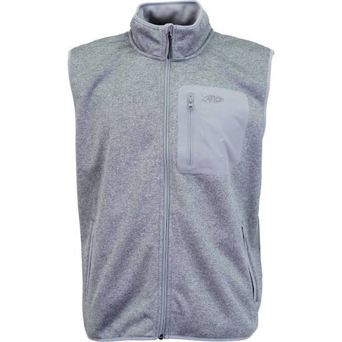 Aftco Vesto Weatherproof Vest - Gray Heather