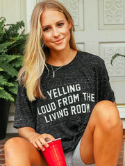 Charlie Southern - Yelling Loud From The Living Room T-Shirt