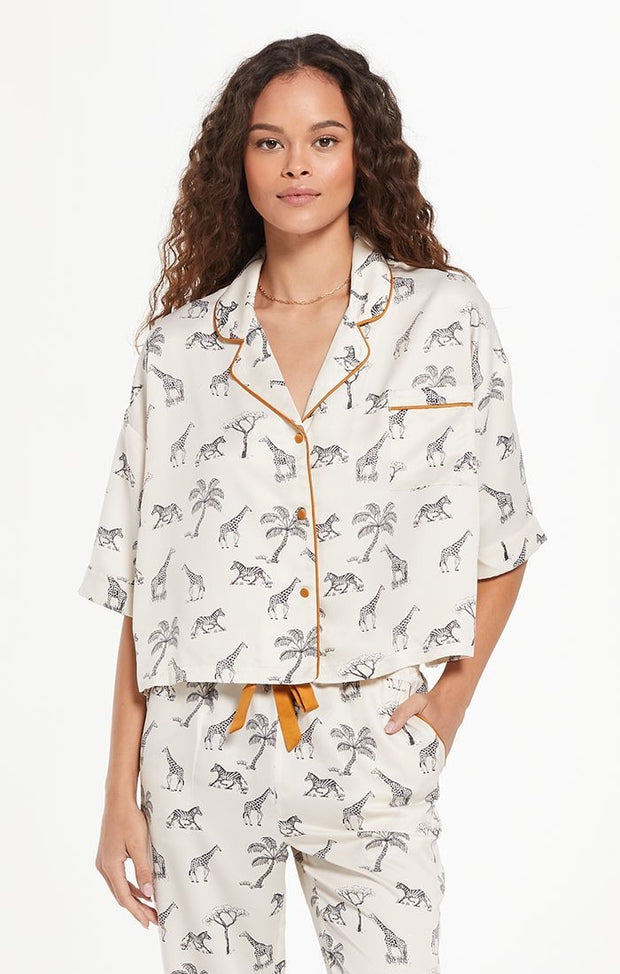 Z Supply - Jolie Safari PJ Set - Bone