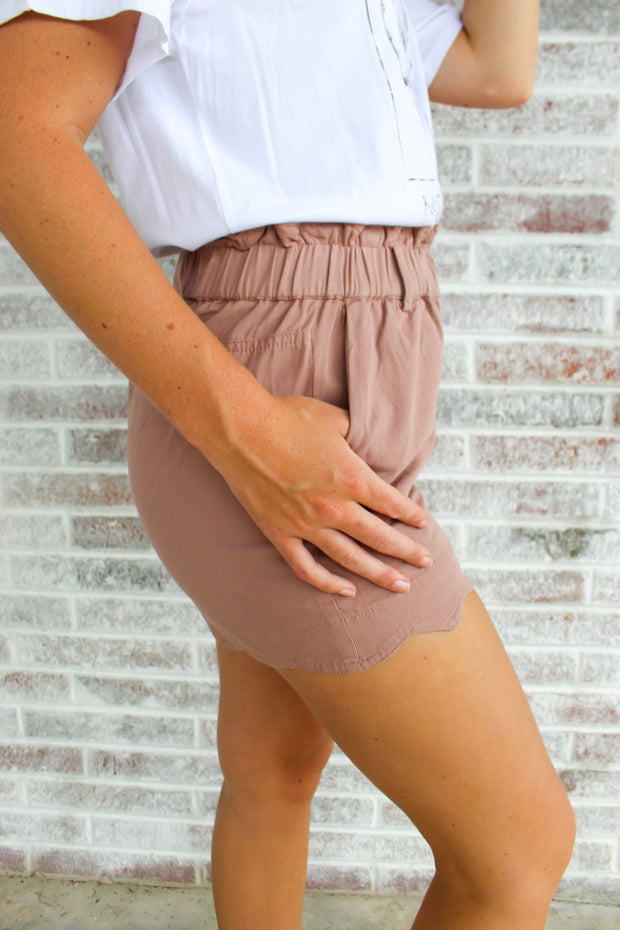 Paper Bag Pocket Shorts