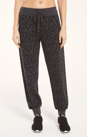 Z Supply Ava Leopard Joggers