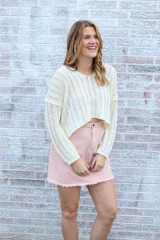 Amelia Bell Sleeve Sweater