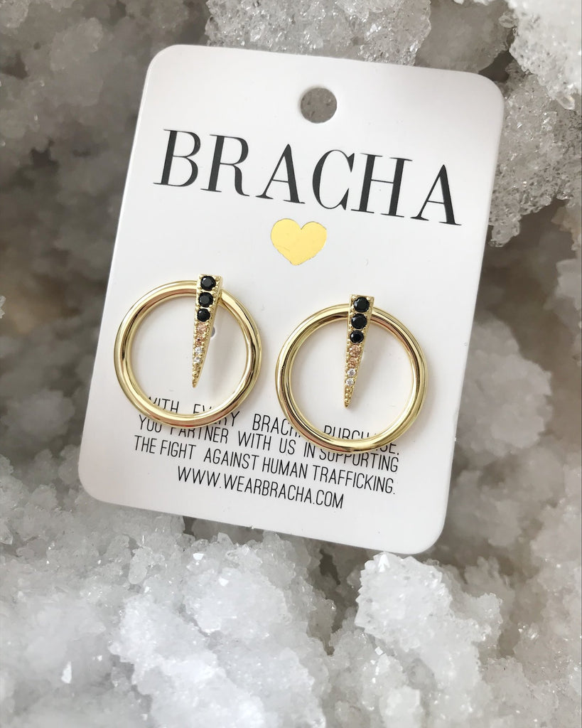 Bracha Living Color Studs