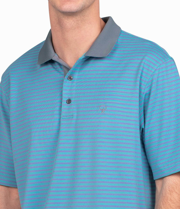 Southern Shirt - King Street Pique Polo - Spinnaker