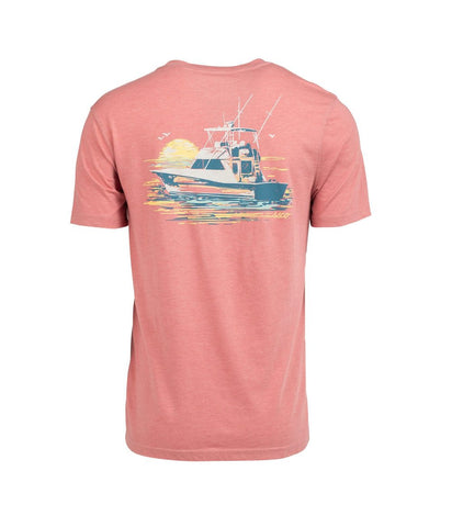 Over Under - Rainbow Trout SS Tee - Lighthouse
