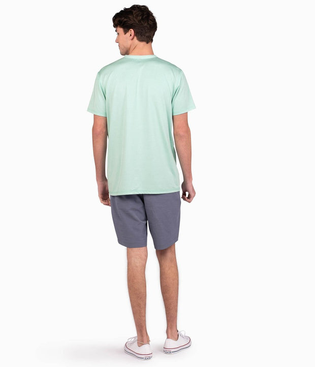 Southern Shirt - Vista Performance Henley - Sea Mist