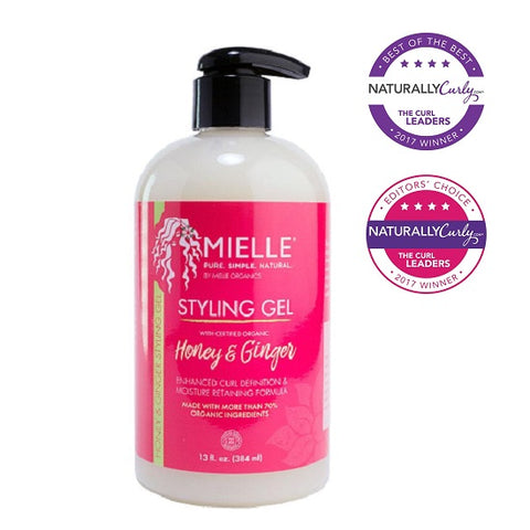 Mielle Organics Styling Gel. 13 ounce bottle. Use to smooth and define curly hair.