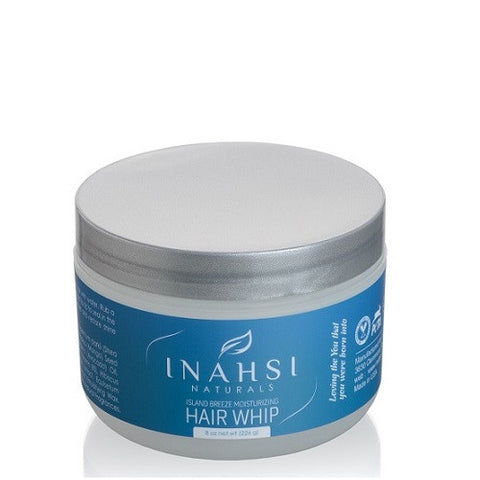 Inahsi Naturals Island Breeze Moisturizing Whip. 8 ounce jar. Moisturizing sealer for natural hair - Roots to Curls