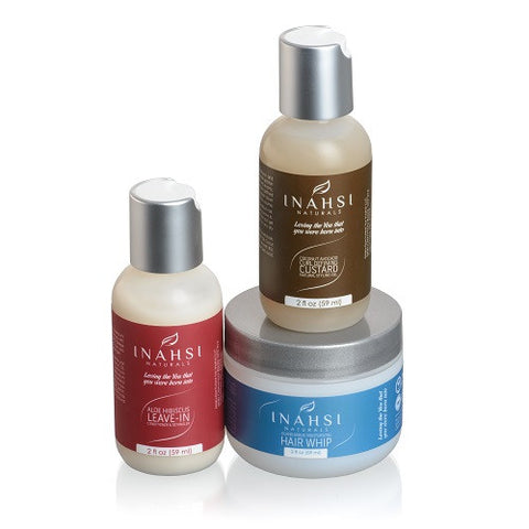 Inahsi Naturals Moisturizing Curl Collection Travel Set - Roots to Curls