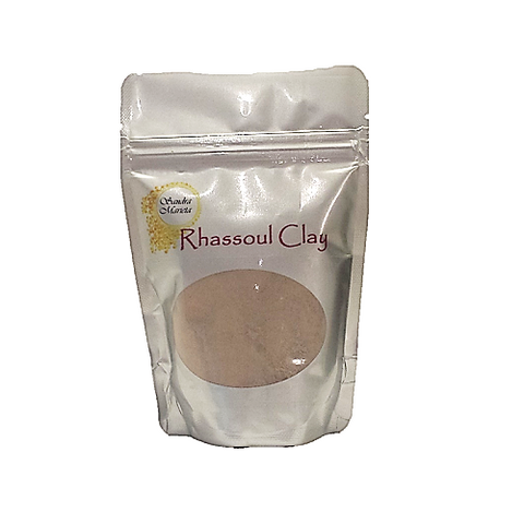 Sandra Marieta Rhassoul Clay. 200 gram pouch. Cleanse and detoxify natural hair without stripping it of natural oils.