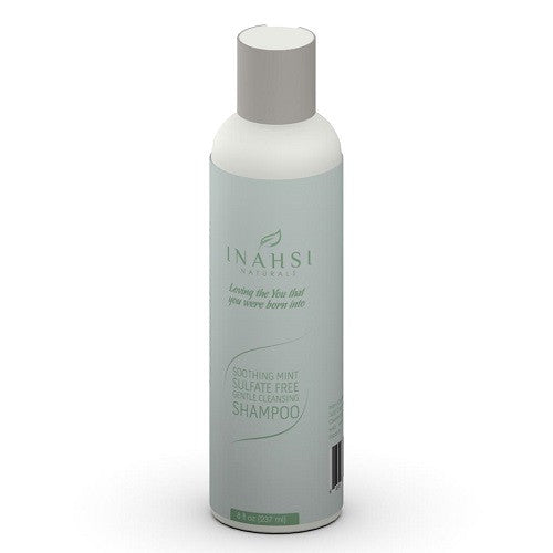 Inahsi Naturals Soothing Mint Sulfate Free Shampoo - Roots to Curls