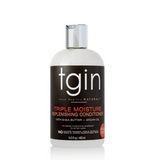 tgin Triple Moisture Replenishing Conditioner. 13.5 ounce bottle. Makes hair smooth and manageable.