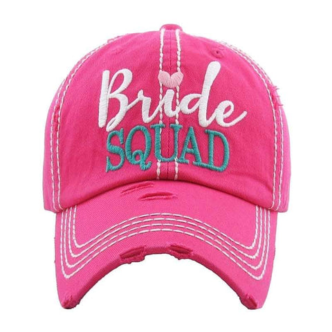 Bride Squad caps
